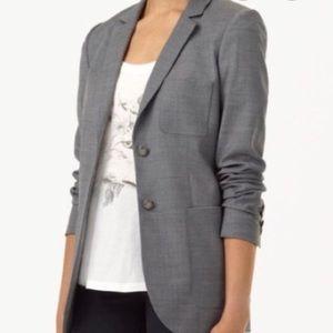 NWOT Aritzia Talula light grey wool blazer.